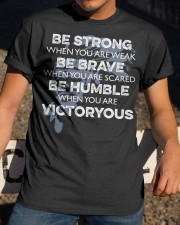 BE Strong Be rave Classic T-Shirt apparel-classic-tshirt-lifestyle-28