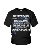 BE Strong Be rave Youth T-Shirt thumbnail