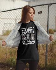 PIT BULL MOMMY Classic T-Shirt apparel-classic-tshirt-lifestyle-07