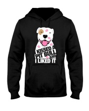 I Kissed a Pitbull and I Liked It Hooded Sweatshirt thumbnail