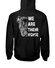 We are their voice Hooded Sweatshirt thumbnail