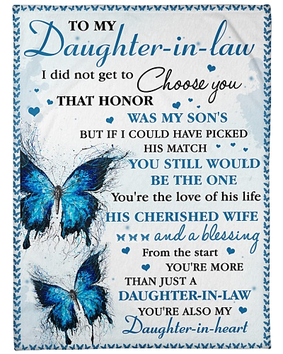 DIL Butterfly You're Also My Daughter-In-Heart