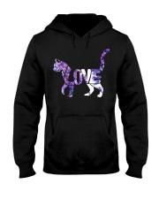 Love Cats Hooded Sweatshirt thumbnail