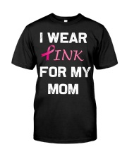 I WEAR PINK FOR MY MOM Premium Fit Mens Tee thumbnail