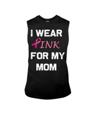 I WEAR PINK FOR MY MOM Sleeveless Tee thumbnail