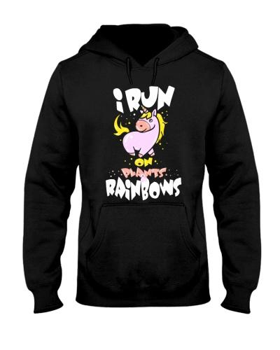 Unicorn I Run On Plants And Rainbows