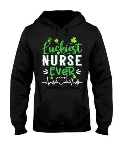Nurse Luckiest Nurse Ever Shamrock