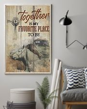Horse Together Is My Favorite Place To Be 24x36 Poster lifestyle-poster-1