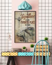 Horse Together Is My Favorite Place To Be 24x36 Poster lifestyle-poster-6
