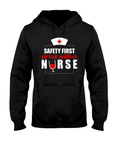 Nurse Safety First Drink With A Nurse