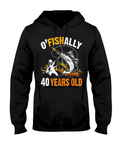 Fish O'Fishally 40 Years Old Swordfish