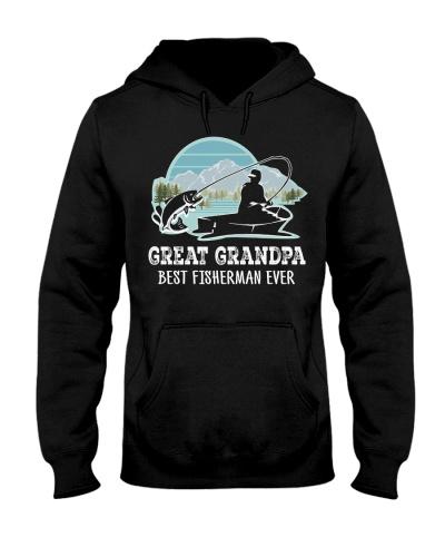 Fish Great Grandpa Best Fisherman Ever