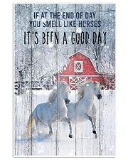 Horse It Is Been A Good Day 24x36 Poster front
