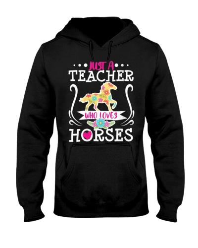Horse Just A Teacher Who Loves Horses