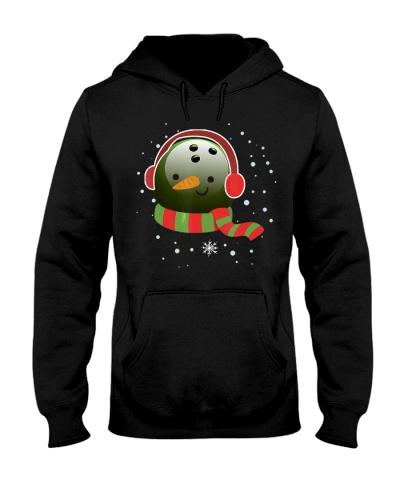 Bowling Snowman Bowling Ball Wear Christmas