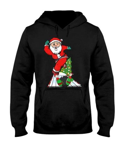 Bowling Santa In Christmas Mood Meets