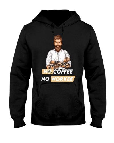 Tattoo Mens No Coffee No Workee