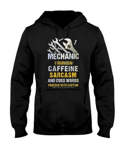Mechanic I Run On Caffeine Sarcasm