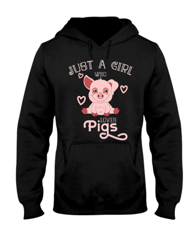 Pig Just A Girl Who Loves Pigs 1