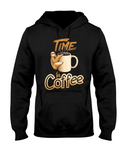 Sloth Time For Coffee 1