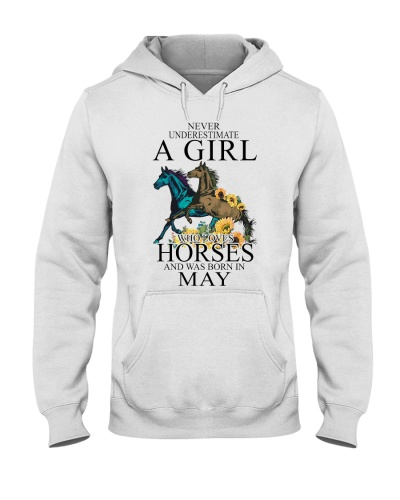 Horse Never Underestimate A Girl Who Loves Horses