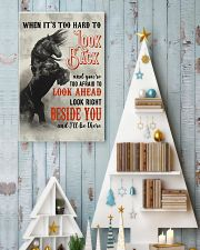 Horse You Are Too Afraid To Look Ahead 24x36 Poster lifestyle-holiday-poster-2