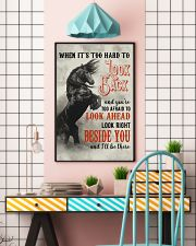 Horse You Are Too Afraid To Look Ahead 24x36 Poster lifestyle-poster-6
