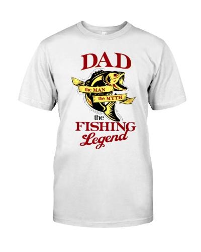 Fish Dad The Man The Myth The Fishing Legend 1