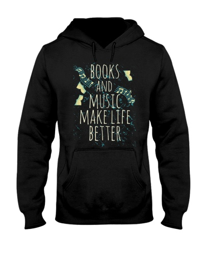 Book Books And Music Make Life Better