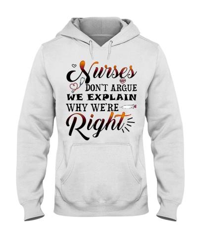 Nurse Do Not Argue We Explain Why We're Right