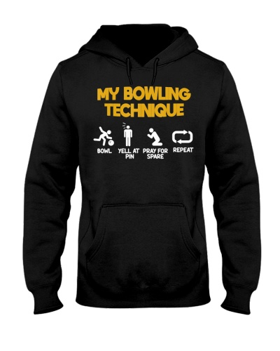 Bowling Technique Bowl Yell And Pray