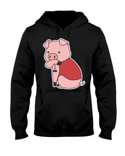Pig I Love Mom