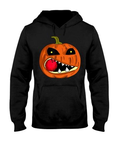 Bowling Pumpkin Eat Bowling Ball Halloween Day