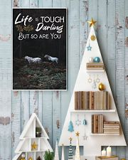 Horse Life Is Tough Darling But So Are You 24x36 Poster lifestyle-holiday-poster-2