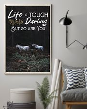 Horse Life Is Tough Darling But So Are You 24x36 Poster lifestyle-poster-1