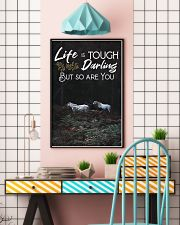 Horse Life Is Tough Darling But So Are You 24x36 Poster lifestyle-poster-6