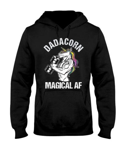 Unicorn Dadacorn Magical Af Unicorn
