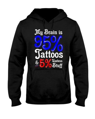 Tattoo My Brain Is 95 Percent Tattoos