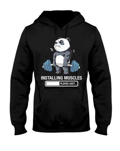 Gym Panda Installing Muscles Gym Workout