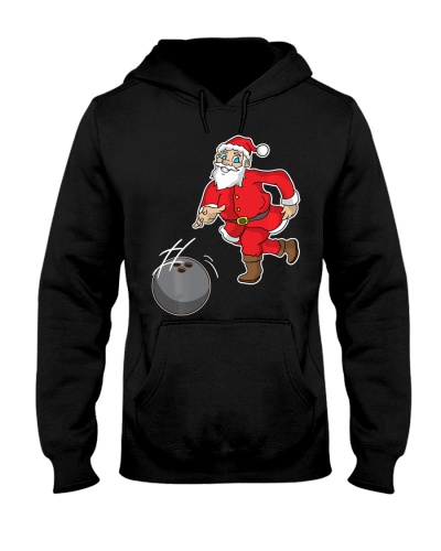 Bowling Santa Claus Bowling Christmas