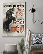Horse You are Too Afraid To Look Ahead 24x36 Poster lifestyle-poster-1