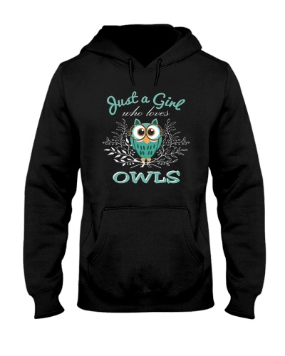 Owl Just A Girl Who Loves Owls 1