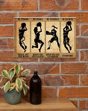 Basketball - Retro Poster 17x11 Poster poster-landscape-17x11-lifestyle-23