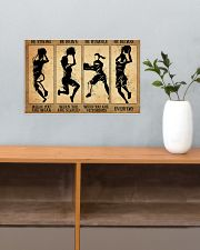 Basketball - Retro Poster 17x11 Poster poster-landscape-17x11-lifestyle-24