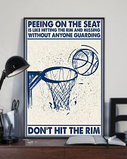 Basketball poster - Don't hit the rim 11x17 Poster lifestyle-poster-2