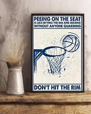 Basketball poster - Don't hit the rim 11x17 Poster lifestyle-poster-3