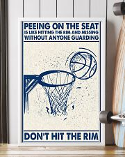 Basketball poster - Don't hit the rim 11x17 Poster lifestyle-poster-4