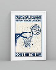 Basketball poster - Don't hit the rim 11x17 Poster lifestyle-poster-5