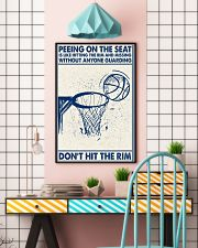 Basketball poster - Don't hit the rim 11x17 Poster lifestyle-poster-6