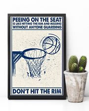 Basketball poster - Don't hit the rim 11x17 Poster lifestyle-poster-8